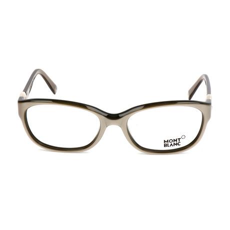 Women's MB0442 Optical Frames // Shiny Beige
