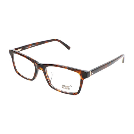Men's MB0541-F Optical Frames // Havana