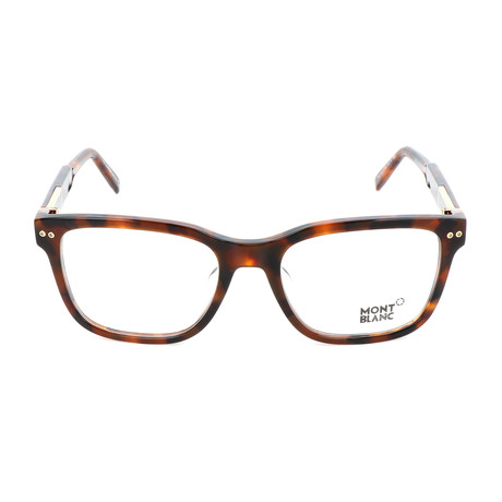 Men's MB0705-F Optical Frames // Dark Havana