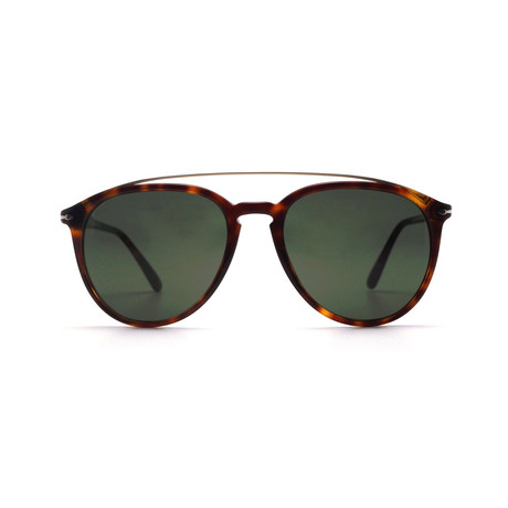 Men's Bridge Sunglasses // Havana + Grenn