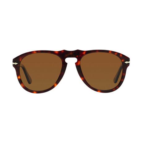 Men's Original Polarized 649 Sunglasses // Havana + Brown (52mm)