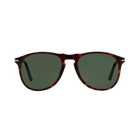 Men's Iconic 649 Evolution Sunglasses // Havana + Green