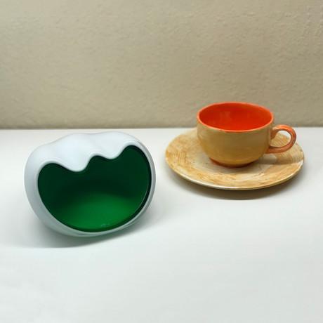 Salamander Ashtray // Green // Small