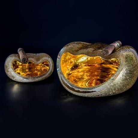 Salamander Ashtray // Gold (Small)