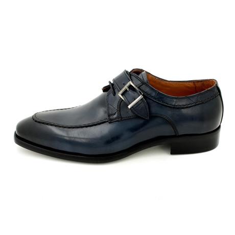 Buckle Dress Shoes // Dark Blue (Euro: 39)