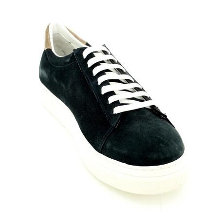 Suede Sneakers // Dark Blue (Euro: 39)
