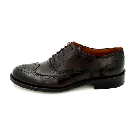Wing-Tip Dress Shoes // Brown (Euro: 39)