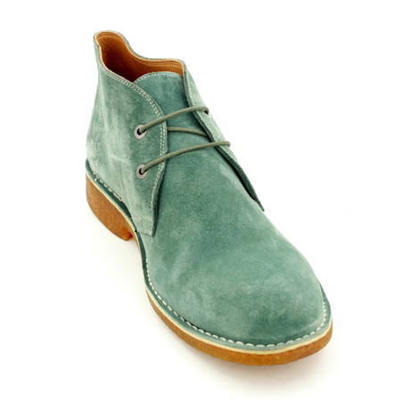 Suede Shoes // Green (Euro: 39)