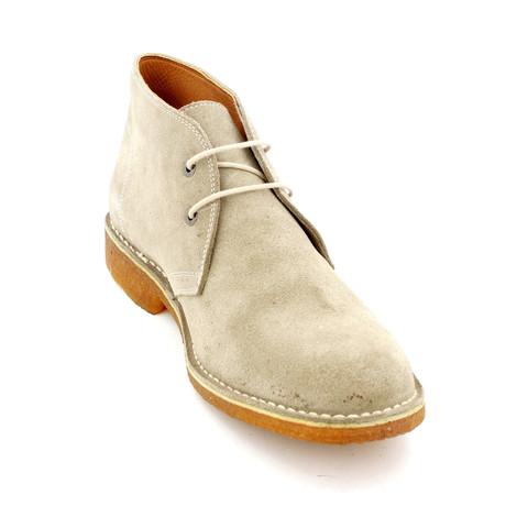Suede Shoes // Beige (Euro: 39)
