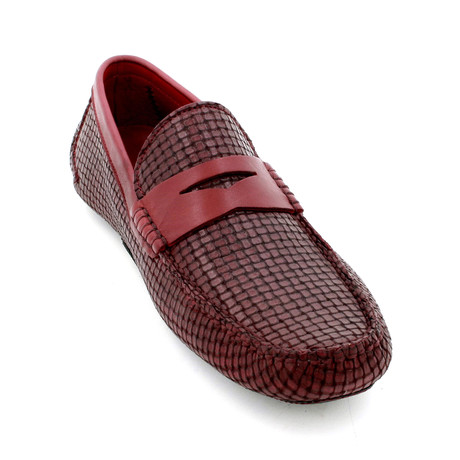 Puzzle Loafers // Burgundy (Euro: 39)