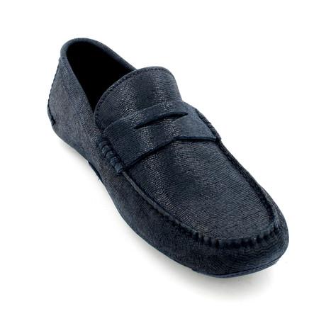 Loafers // Dark Blue (Euro: 39)