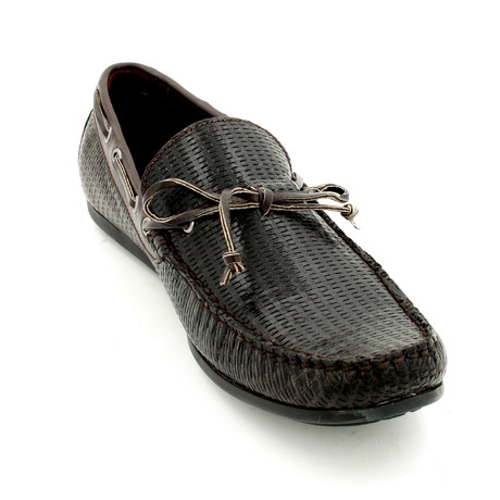Textured Shoes // Black (Euro: 39)