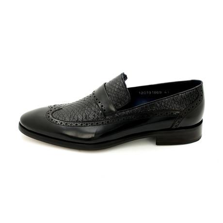 Matte Leather Dress Shoes // Black (Euro: 39)