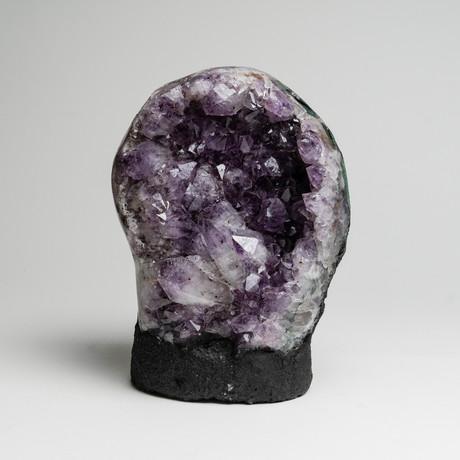 Natural Amethyst Geode Cluster // II