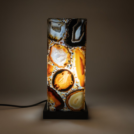Agate Lamp // Brazil (Small)