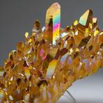 Genuine Sunset Aura Quartz Cluster