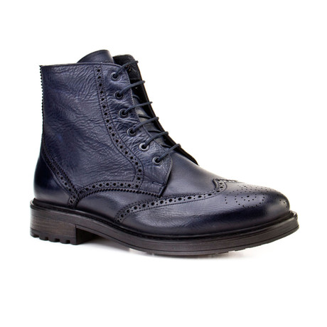 Michael Boots // Navy (Euro: 39)
