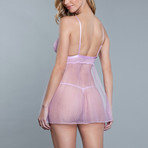 Hailey Babydoll // Lavender (1X-Large)