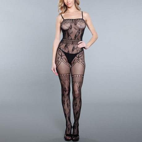 Bad As Ever BodyStocking // Black // Two Pieces (One Size)