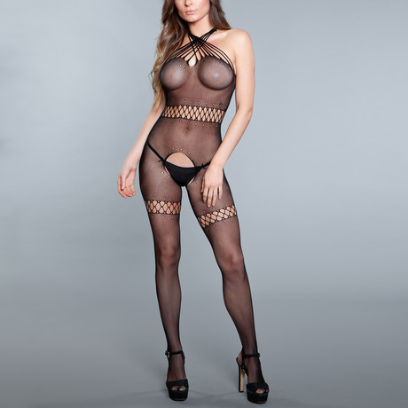 Intoxicating Love Bodystocking // Black (One Size)