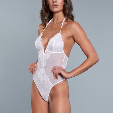 Scarlett Teddy // White (Small)
