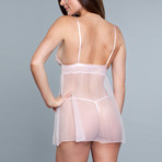 Hailey Babydoll // Blush (1X-Large)