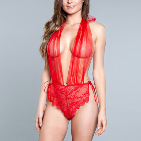 Alessandra Teddy // Red (Small)