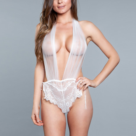Alessandra Teddy // White (Small)