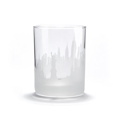 City Skyline Bar Glasses // Set of 4 // New York City