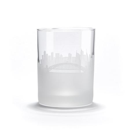 City Skyline Bar Glasses // Set of 4 // Sydney