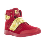 Atlas III High-Top Sneaker // Red + Gold (US: 7.5)