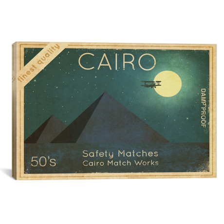 "Cairo Safety Matches #1 // Terry Fan (18""W x 12""H x 0.75""D)"