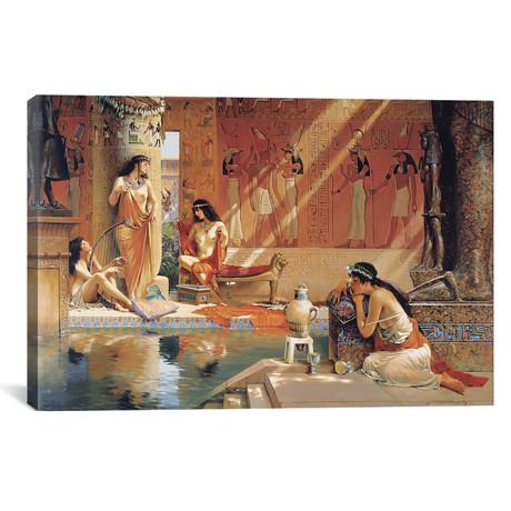 "Egyptian Bathers (18""W x 12""H x 0.75""D)"