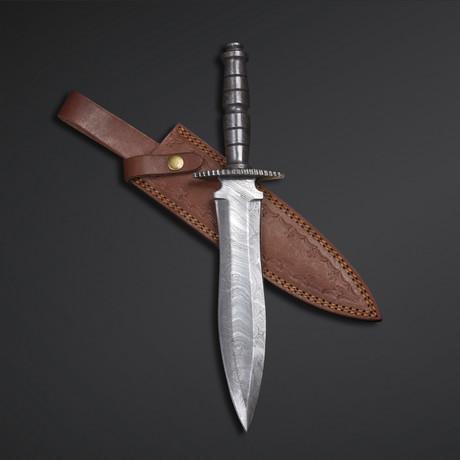 Full Damascus Dagger