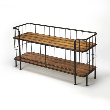 Colby Industrial Console Table