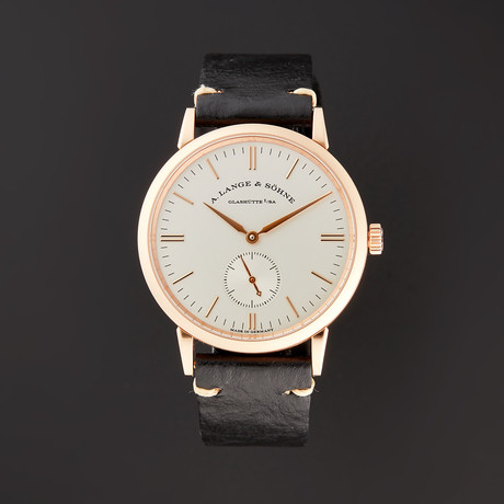 A. Lange & Sohne Saxonia Manual Wind // 219.032 // Pre-Owned