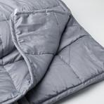 "Weighted Blanket + Oeko-TEX Standard Cotton + Premium Glass Beads (15 lbs. // 48""L x 72""W)"