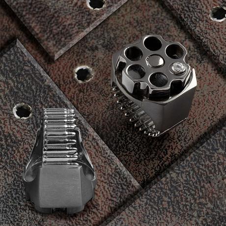 Bullet Ring // Black + Black (10)