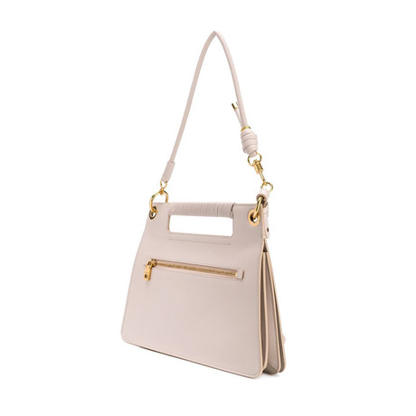Givenchy // Whip Medium Top Handle Shoulder Bag // Ivory