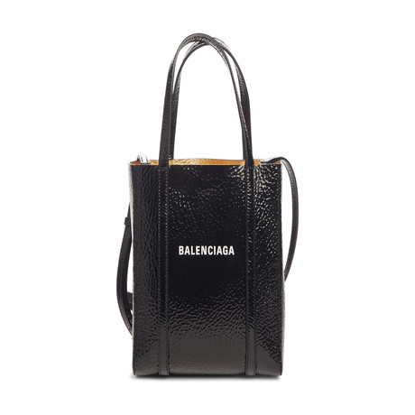 Balenciaga // XXS Everyday Tote // Black + Gold