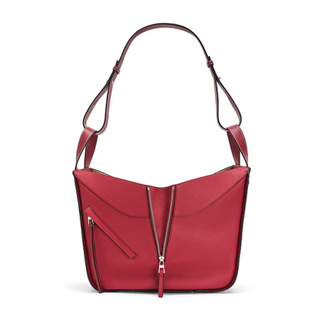 Loewe // Medium Hammock Handbag // Red
