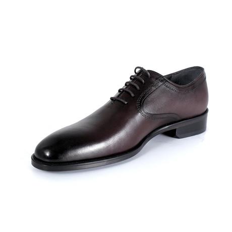 Christian Dress Shoe // Burgundy (Euro: 40)
