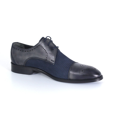 Antonio Dress Shoe // Navy Blue (Euro: 40)