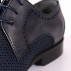 Antonio Dress Shoe // Navy Blue (Euro: 46)