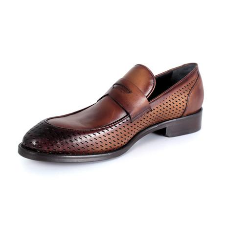 Giovanni Dress Shoe // Tobacco (Euro: 40)