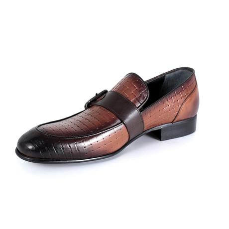 Luca Dress Shoe // Tobacco (Euro: 40)