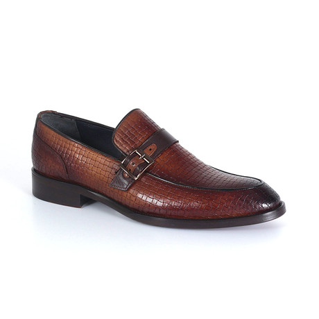 Francesco Dress Shoe // Tobacco (Euro: 40)