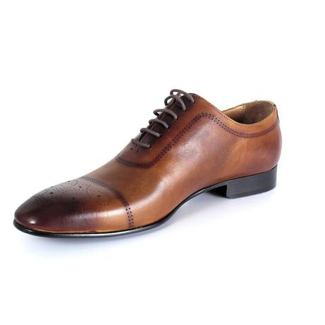 Filippo Dress Shoe // Tobacco (Euro: 40)