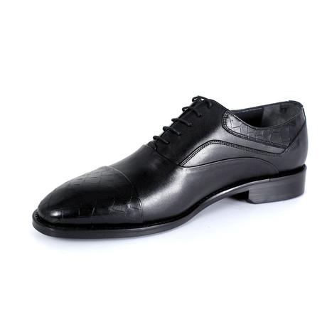 Giulio Dress Shoe // Black (Euro: 40)