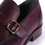 Leonardo Dress Shoe // Burgundy (Euro: 40)